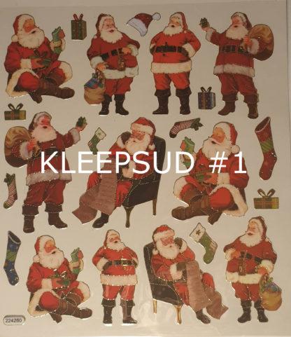 Jõuluteemalised kleepsud
